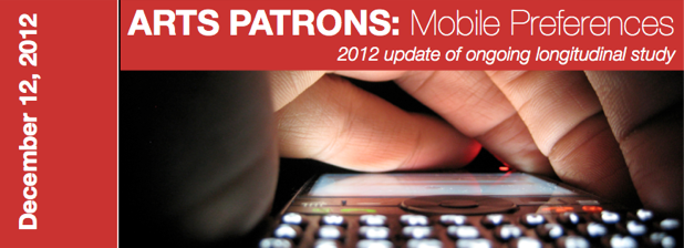 Group of Minds - Arts Patrons Mobile Preferences