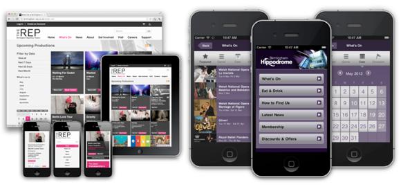 Made mobile - Birmingham Rep and Hippodrome
