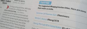Printed tweets