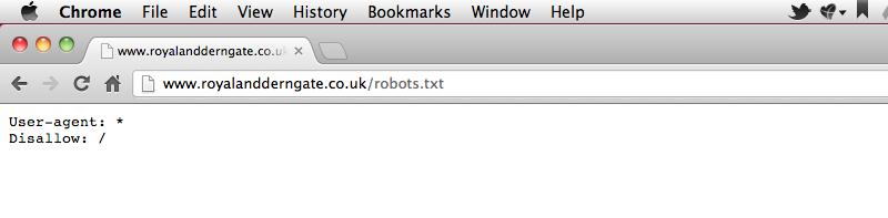 Royal and Derngate robots file