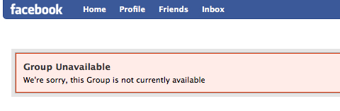 facebook-group-unavailable