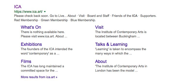 ica london - Google Search