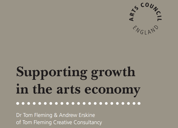 Supporting growth in the arts economy